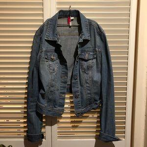 HM Vintage blue denim trucker Jacket